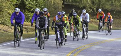 Solar Bears ride for Cancer Services