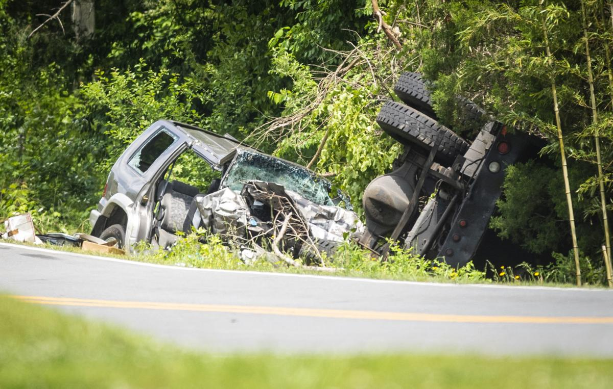 Collision with Winston-Salem utility truck kills 61-year-old