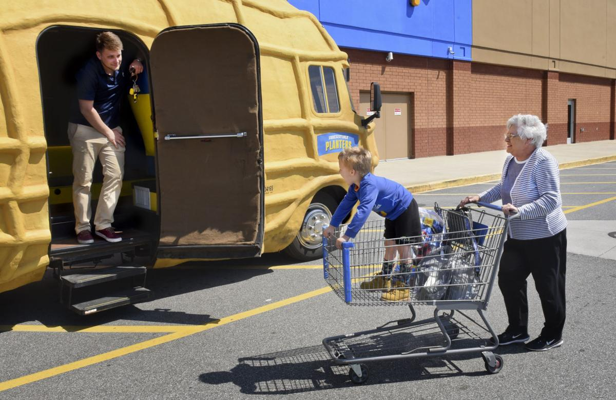 planters nut mobile and mr peanut in winston salem area for the