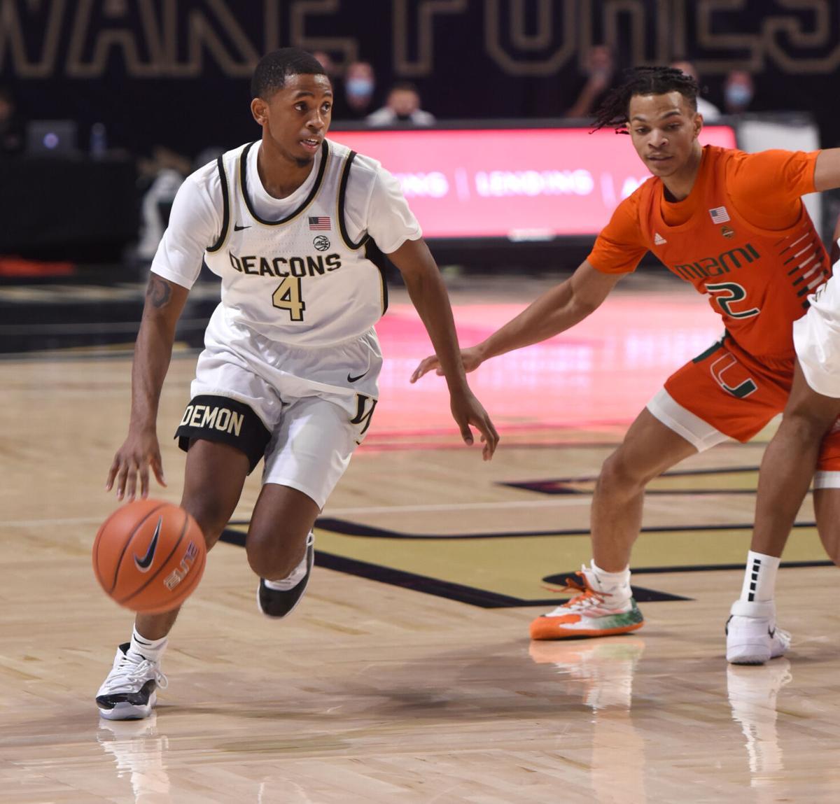 Miami Wake Forest basketball