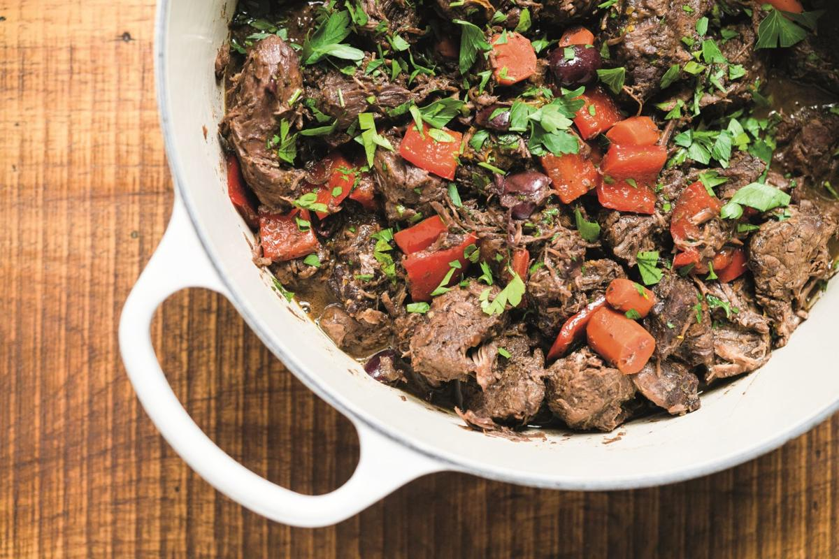 Beef, Orange and Olive Stew