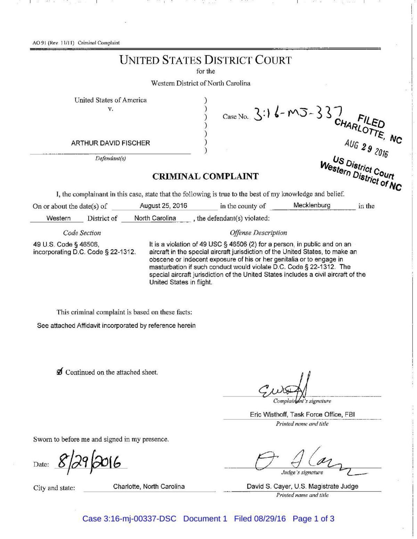 Criminal complaint | | journalnow com