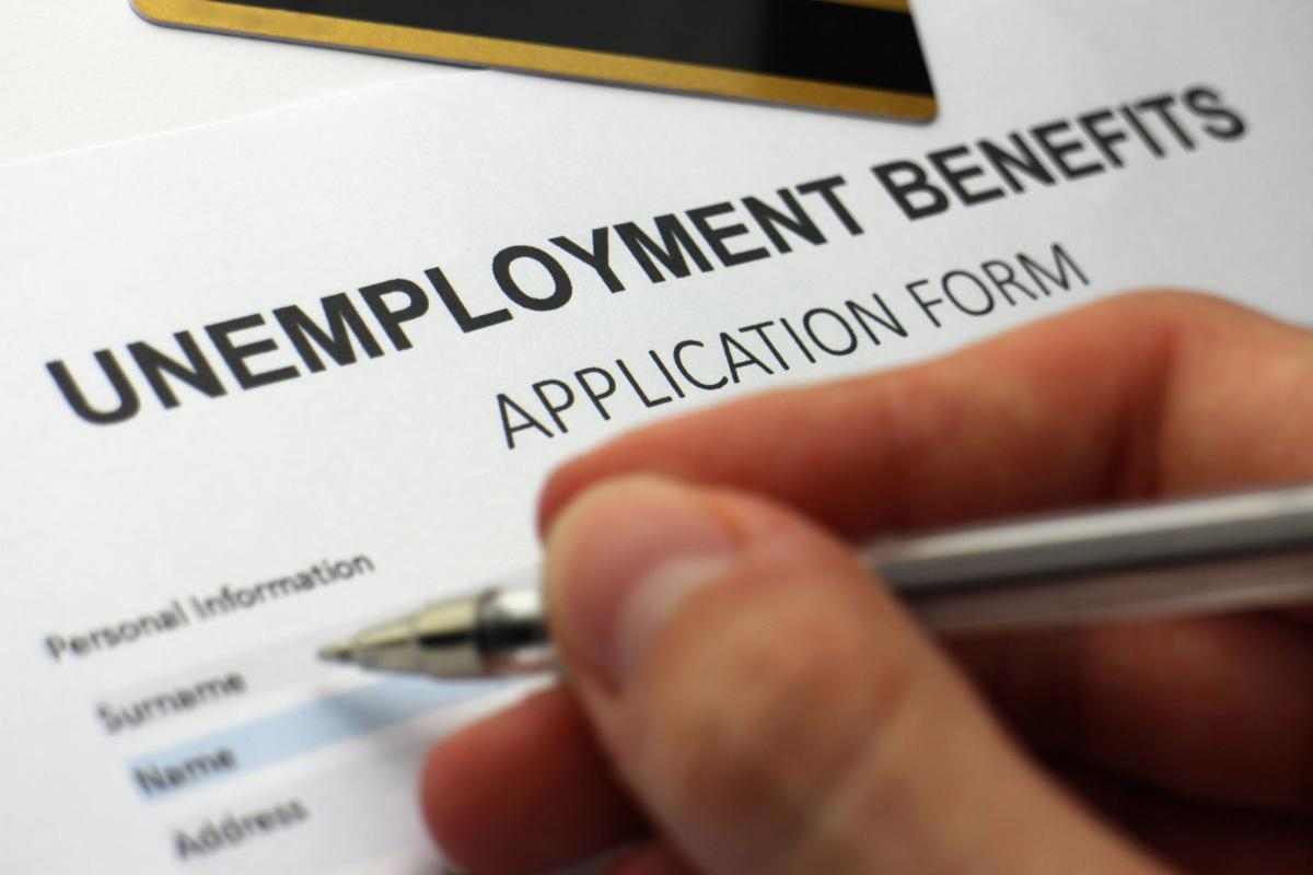 Unemployment benefits application form (copy)