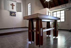 Altar is back home at chapel in Stokes County