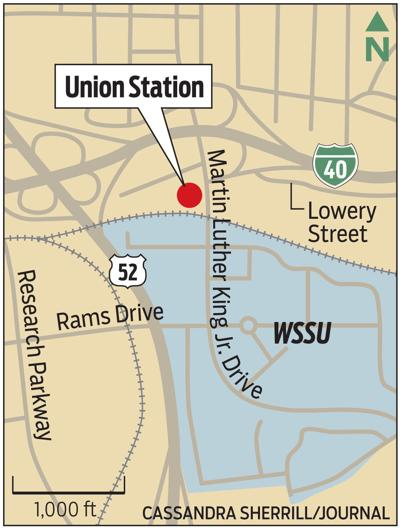 Location of Union Station