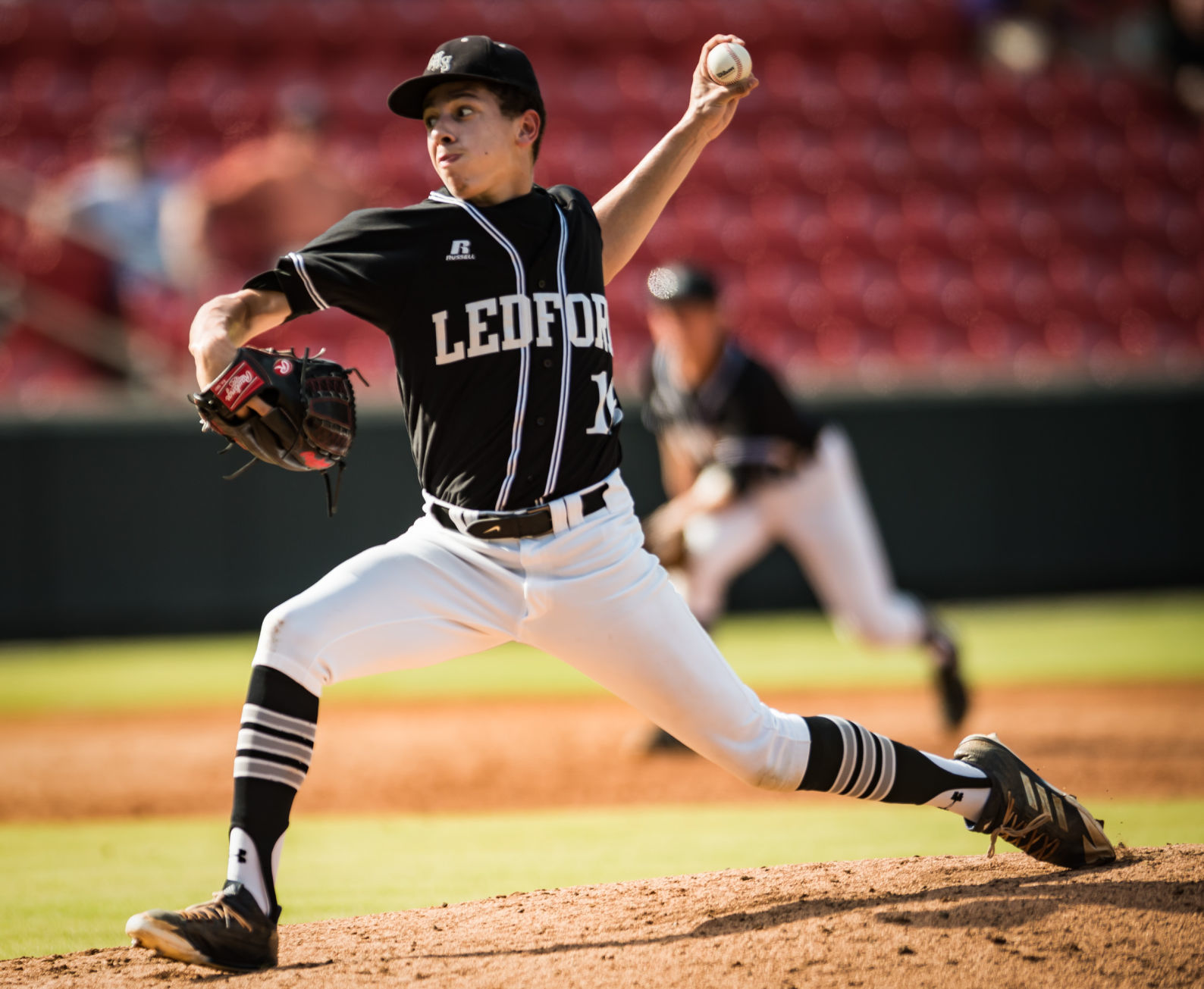 First Game of Ledford Baseball State Championship