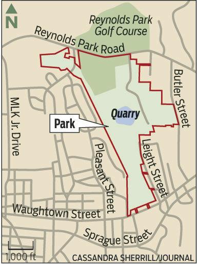 Quarry Park map