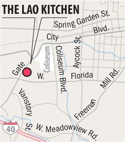 Laotian restaurant opens in Greensboro | Dining | journalnow.com on map of ferguson nc, map of bunnlevel nc, map of memphis tn, map of raleigh nc, map of moyock nc, map of columbus ga, map of ogden nc, map of hog island nc, map of saxapahaw nc, map of greenville nc, map of orange co nc, map of clarksville nc, map of asheville nc, map of north carolina, map of griffin nc, map of charlotte nc, map of charlottesville nc, map of biltmore forest nc, map of atlanta, map of salemburg nc,