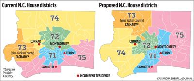 N.C. House districts