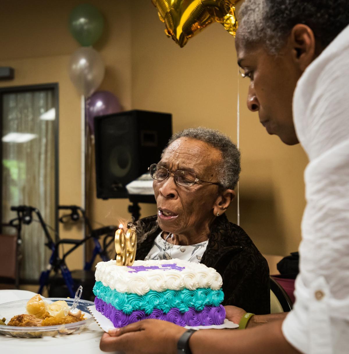 WWII Veteran Elizabeth Johnson 99th Birthday