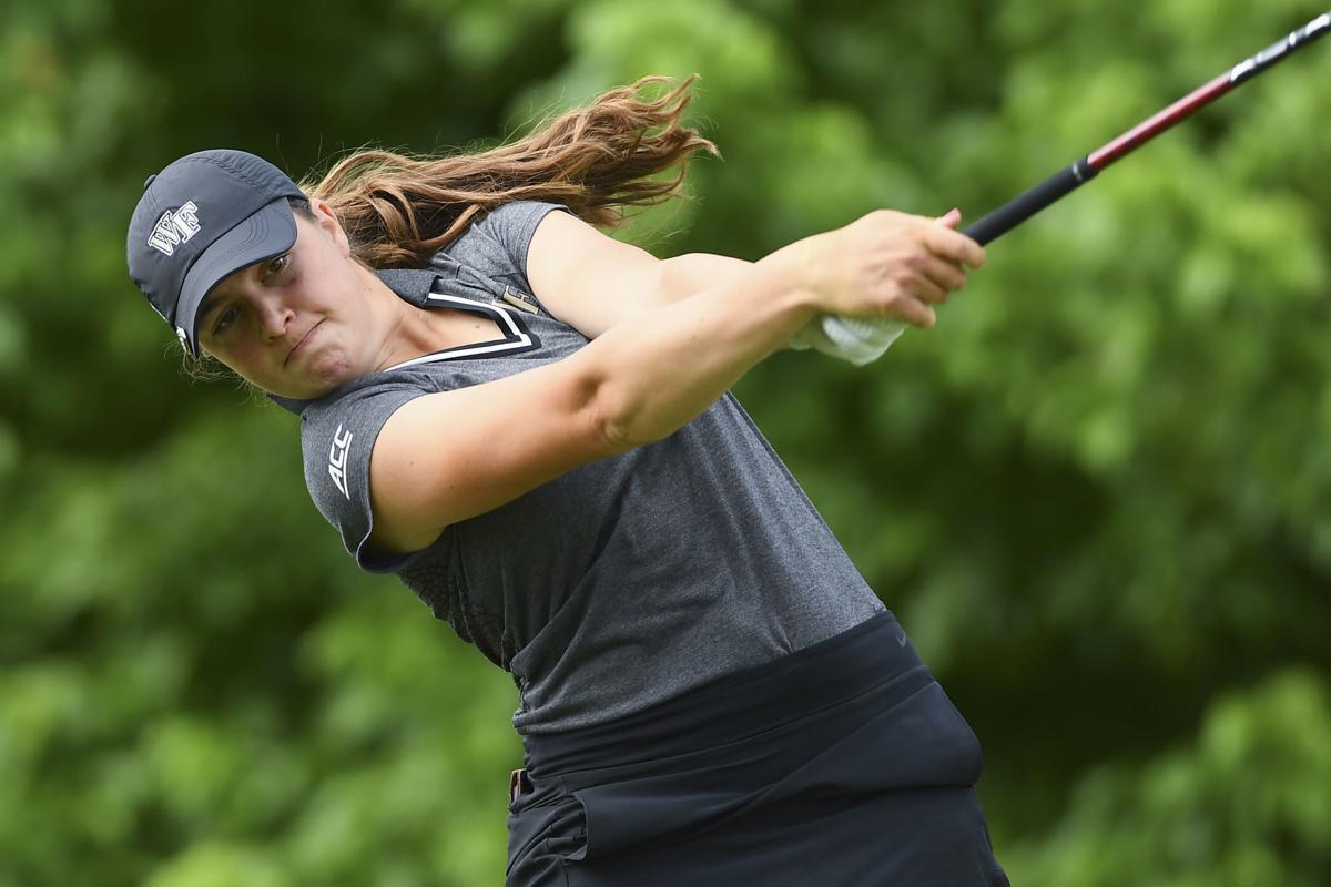 NCAA WOMENS GOLF:  MAY 22 2019 NCAA Women's National Golf Championship