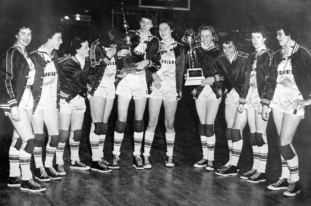 Hanes Hosiery women's basketball team