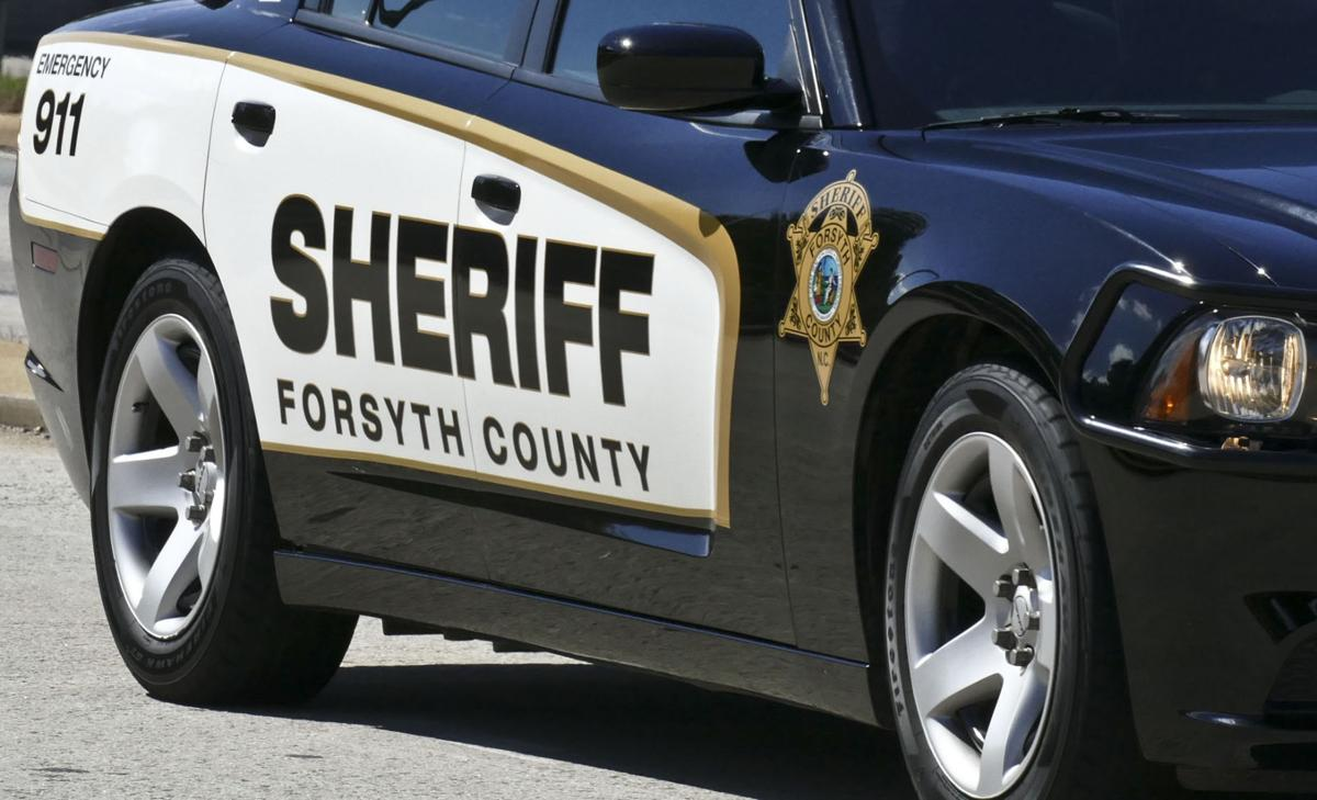 Forsyth sheriff's vehicle becomes engulfed in flames while