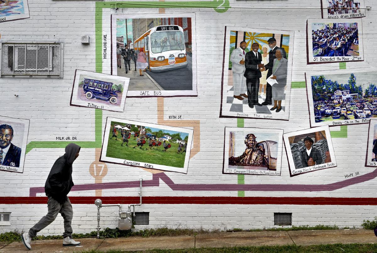 East Winston Mural