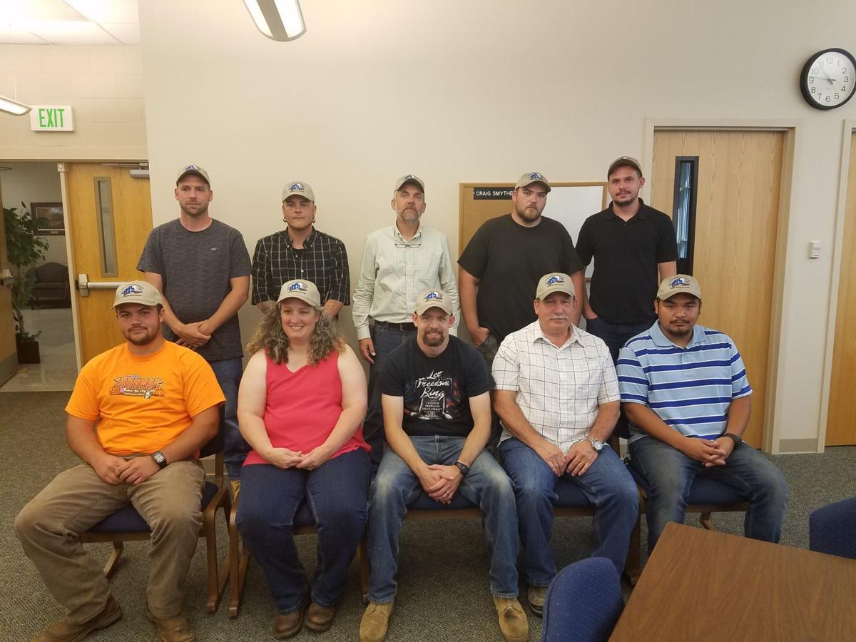 Surry Community College 16th class of truck drivers