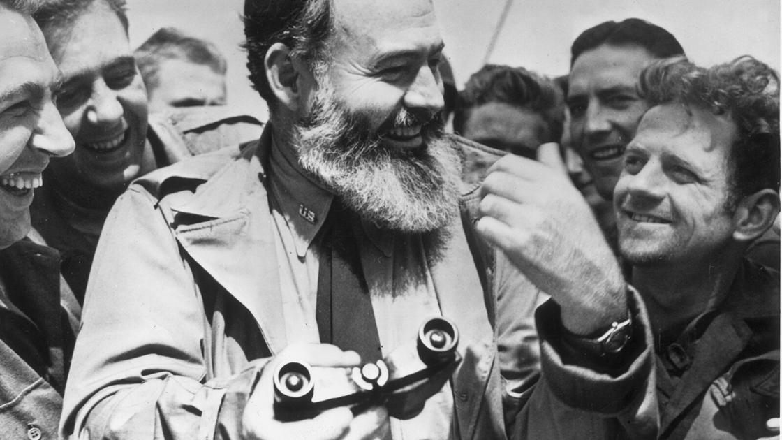 Watch Ernest Hemingway documentary and read his essential works