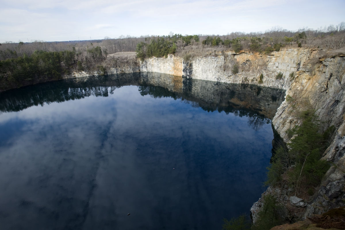 Sexton Abandoned Quarry Is Pool Of Hope Local News Journalnow Com