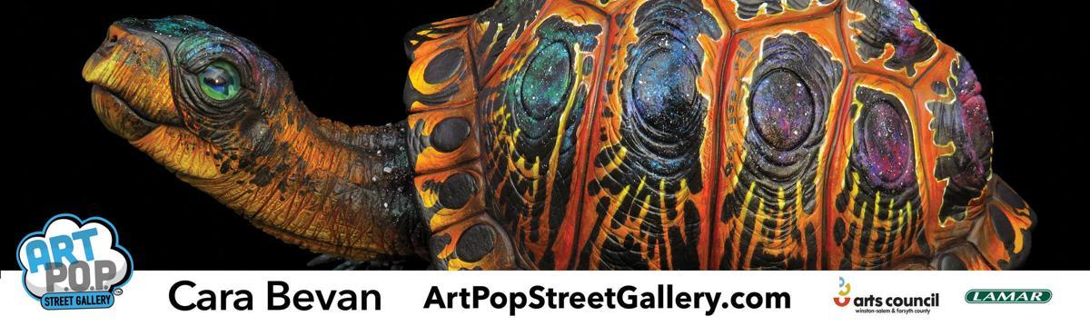 ArtPop Celeste the Cosmic Turtle Cara Bevan