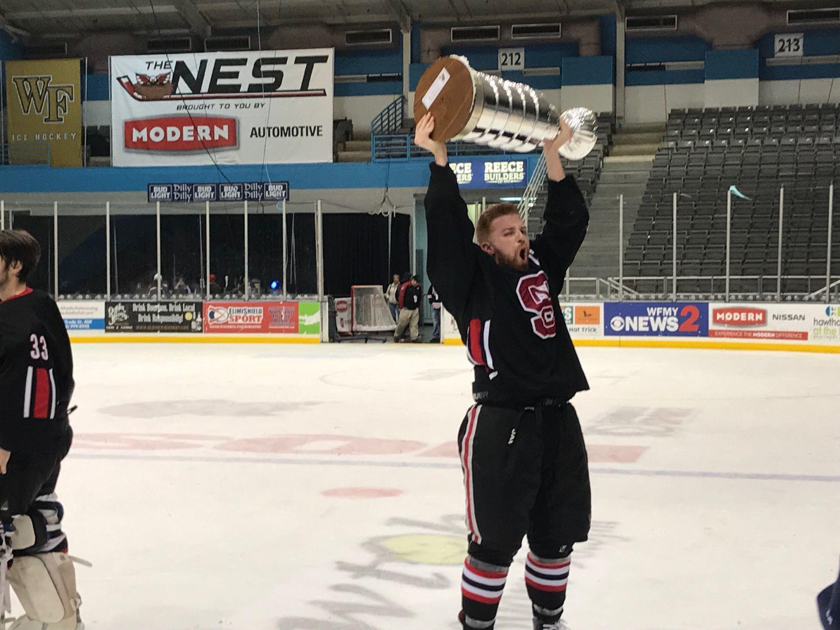 N.C. State club hockey team wins conference title with 4-2 win over Virginia