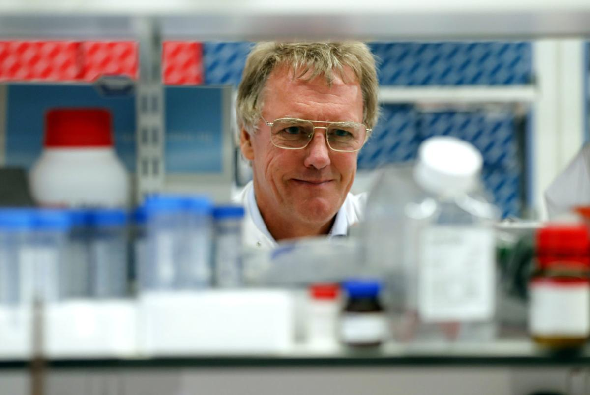 Scientist Peter J.Ratcliffe