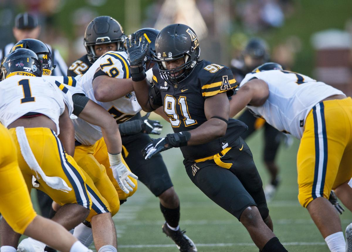 East Tennessee State Appalachian State football