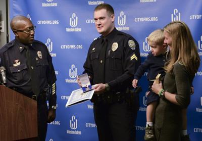 Winston-Salem Police Department officer awarded Medal of