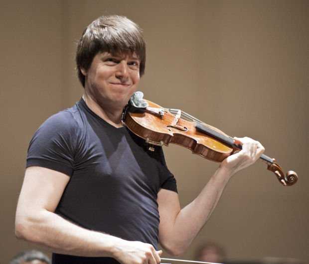 Joshua Bell Rehearsal And Q Amp A Galleries Journalnow Com