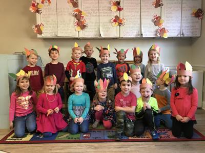 Preschool turkey chefs 1