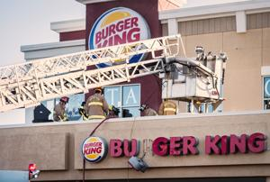 Burger King on Peters Creek Parkway in Winston-Salem catches fire Saturday