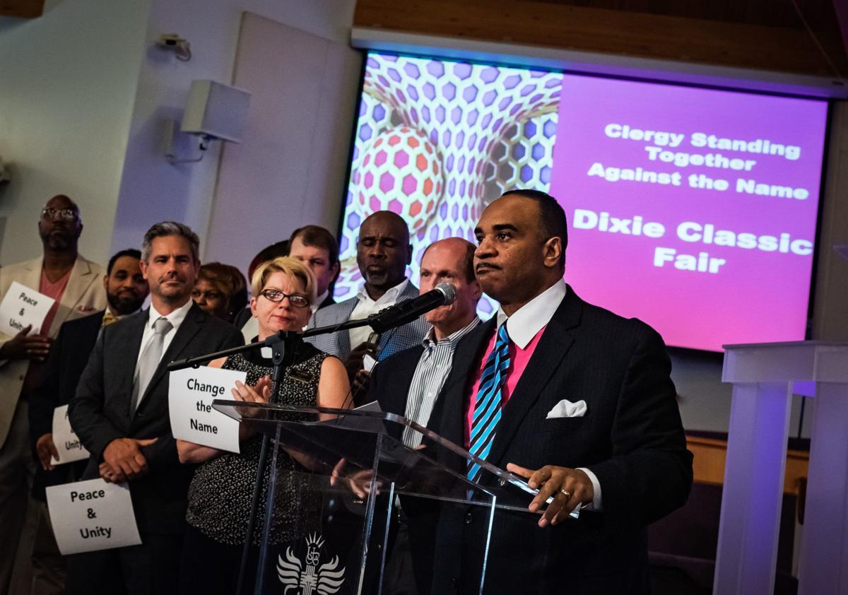 Dixie Classic Fair Name Change Public Hearing