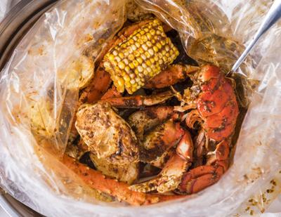 The boiling crab nc