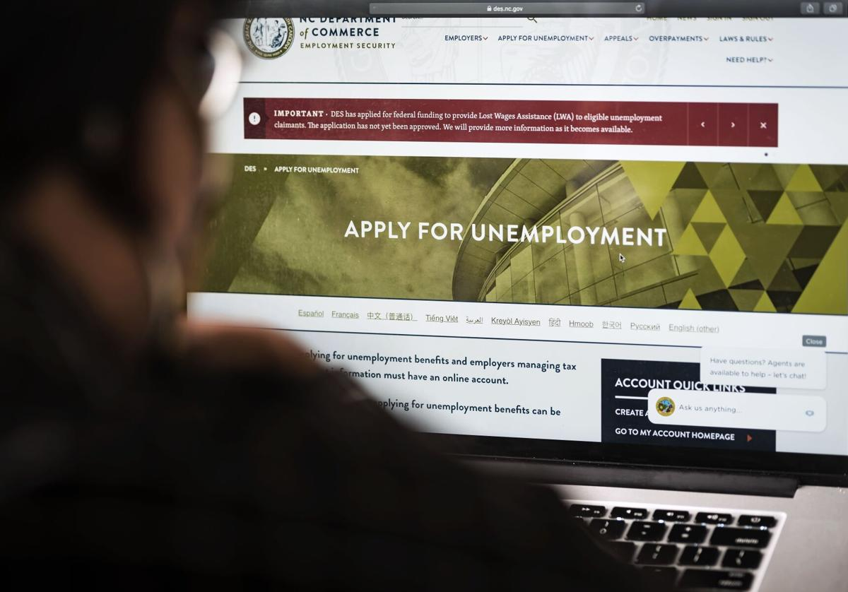 Filing for Unemployment in NC