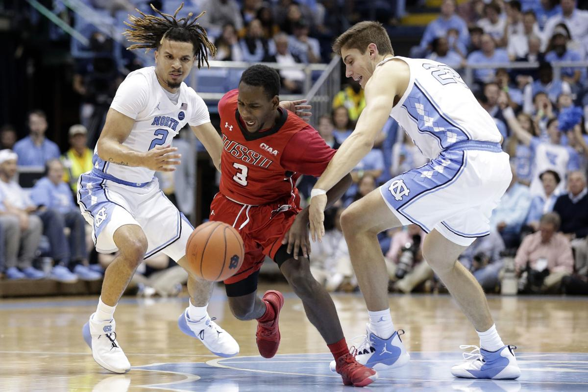 Winston Salem St North Carolina Basketball