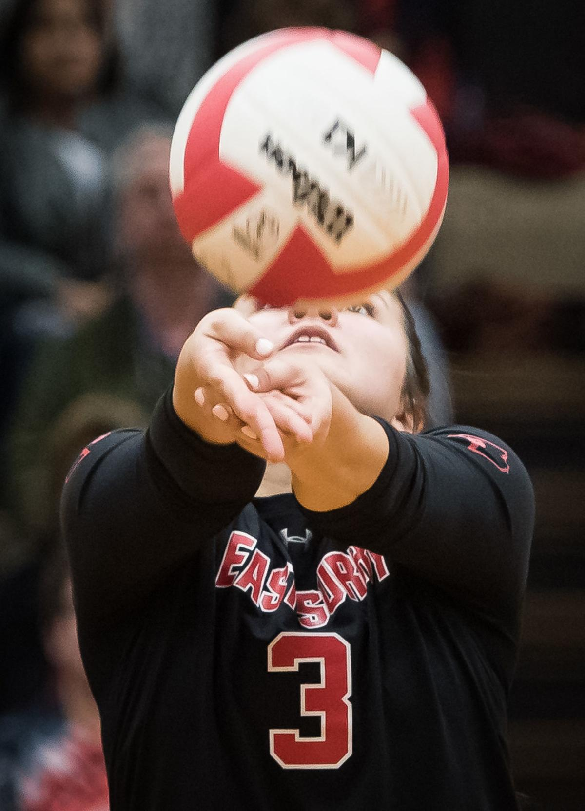 East Surry Mount Holly Mountain Island Charter Volleyball