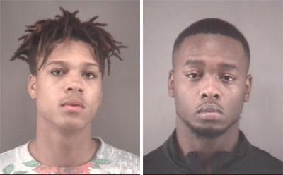 Malik Patience Smith, left, and Jakier Shanique Austin (copy)