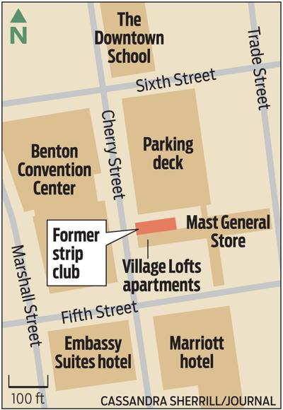 MAP: Mast General Store property