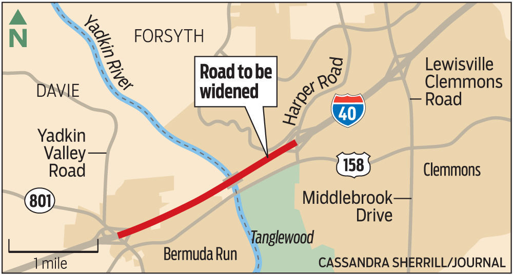 Westbound lanes of Interstate 40 to close Friday near Yadkin River as road work begins | Winston Salem Journal