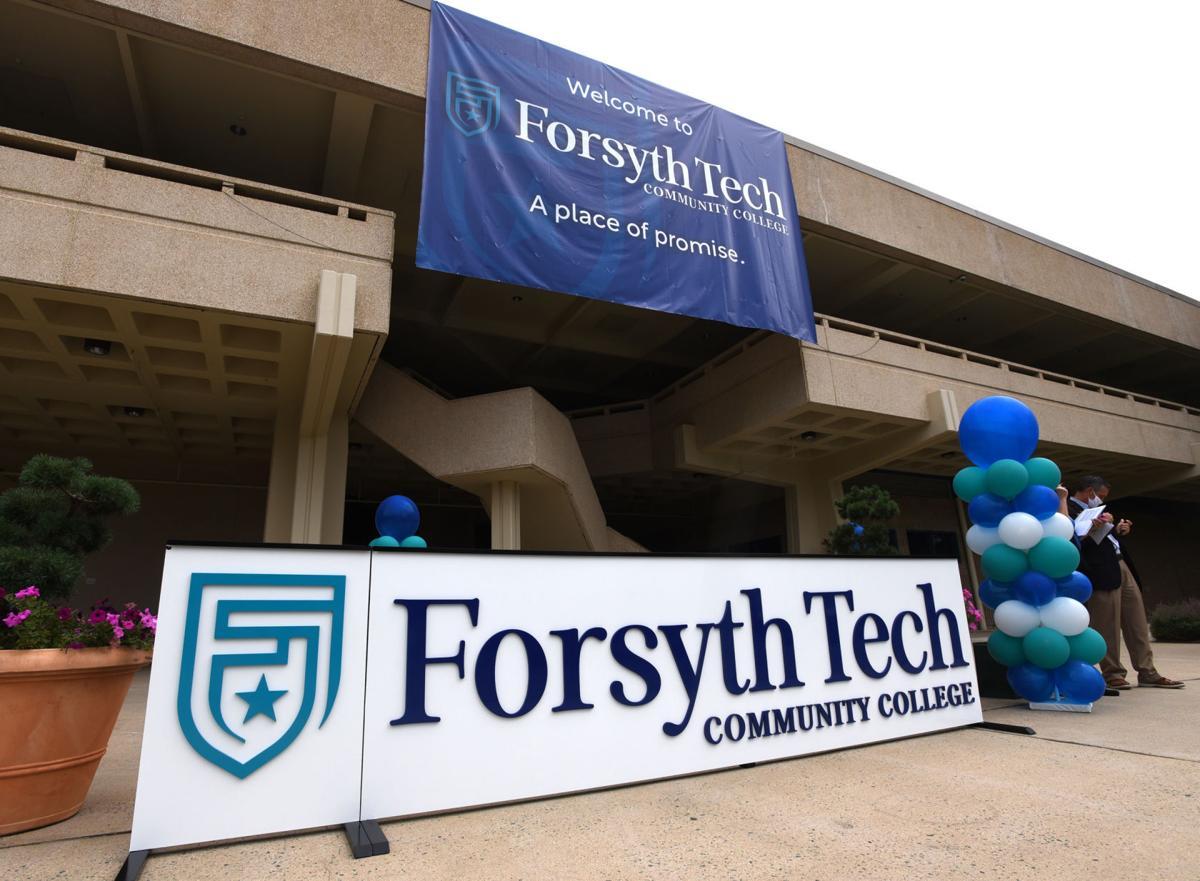 Forsyth Tech logo banners