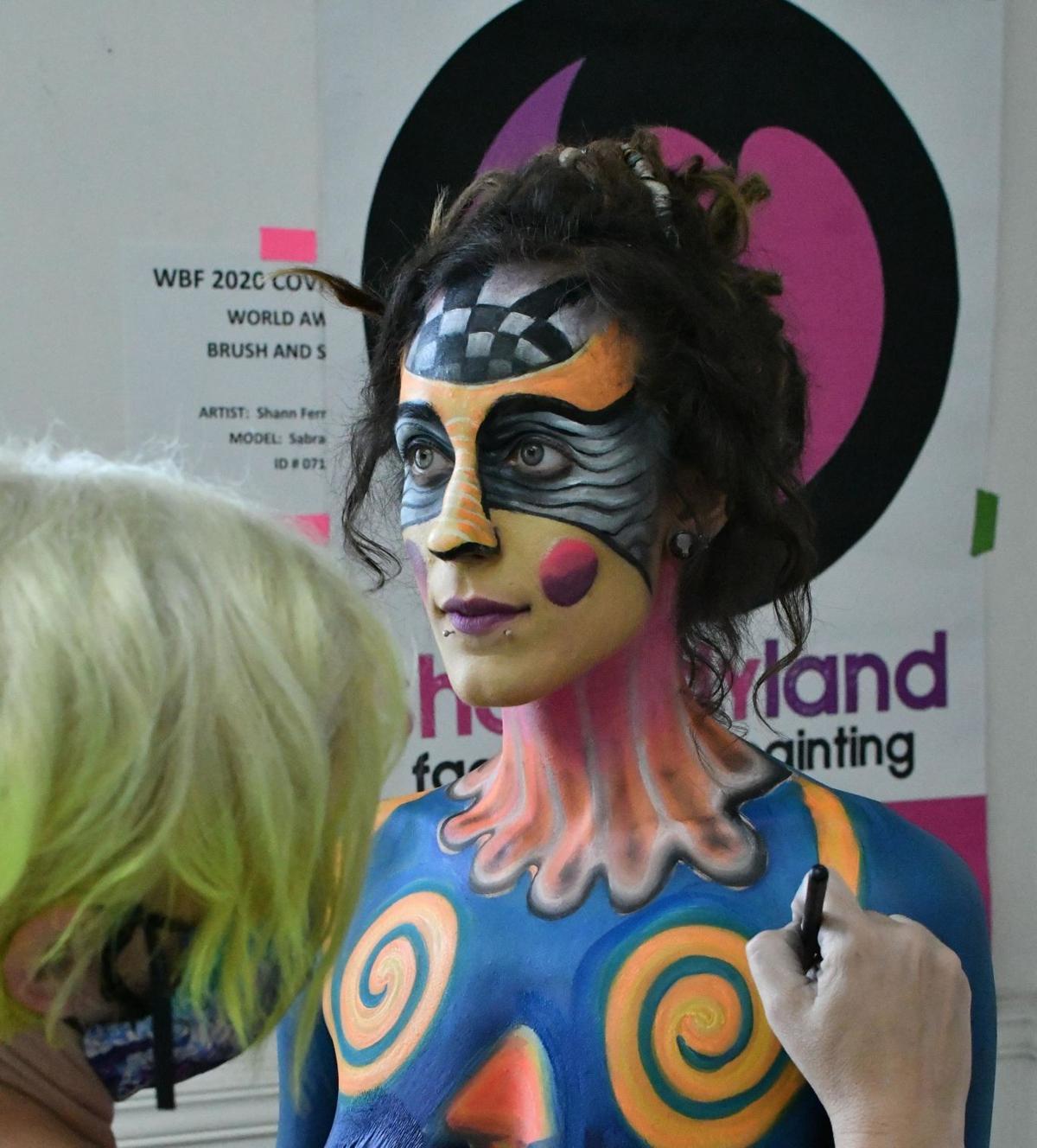 Photos World Bodypainting Festival From Reidsville Galleries Journalnow Com