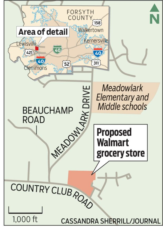 Plans For Walmart Grocery Store On Country Club Draws Jeers Complaints Local News