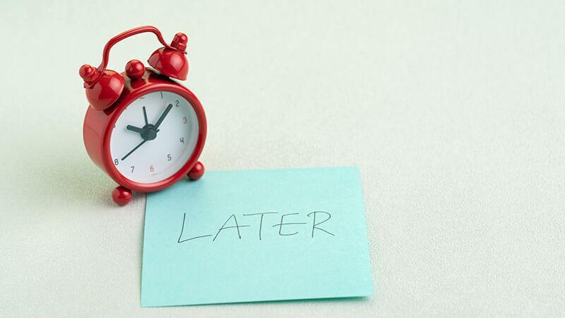 Fighting Procrastination - cover