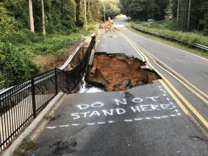 Bethabara Road in Winston-Salem to be closed longer than expected