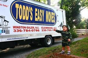 Patton & Todd's Easy Moves Truck