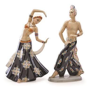 Cavaliere Indiano and Danzatrice Indiana
