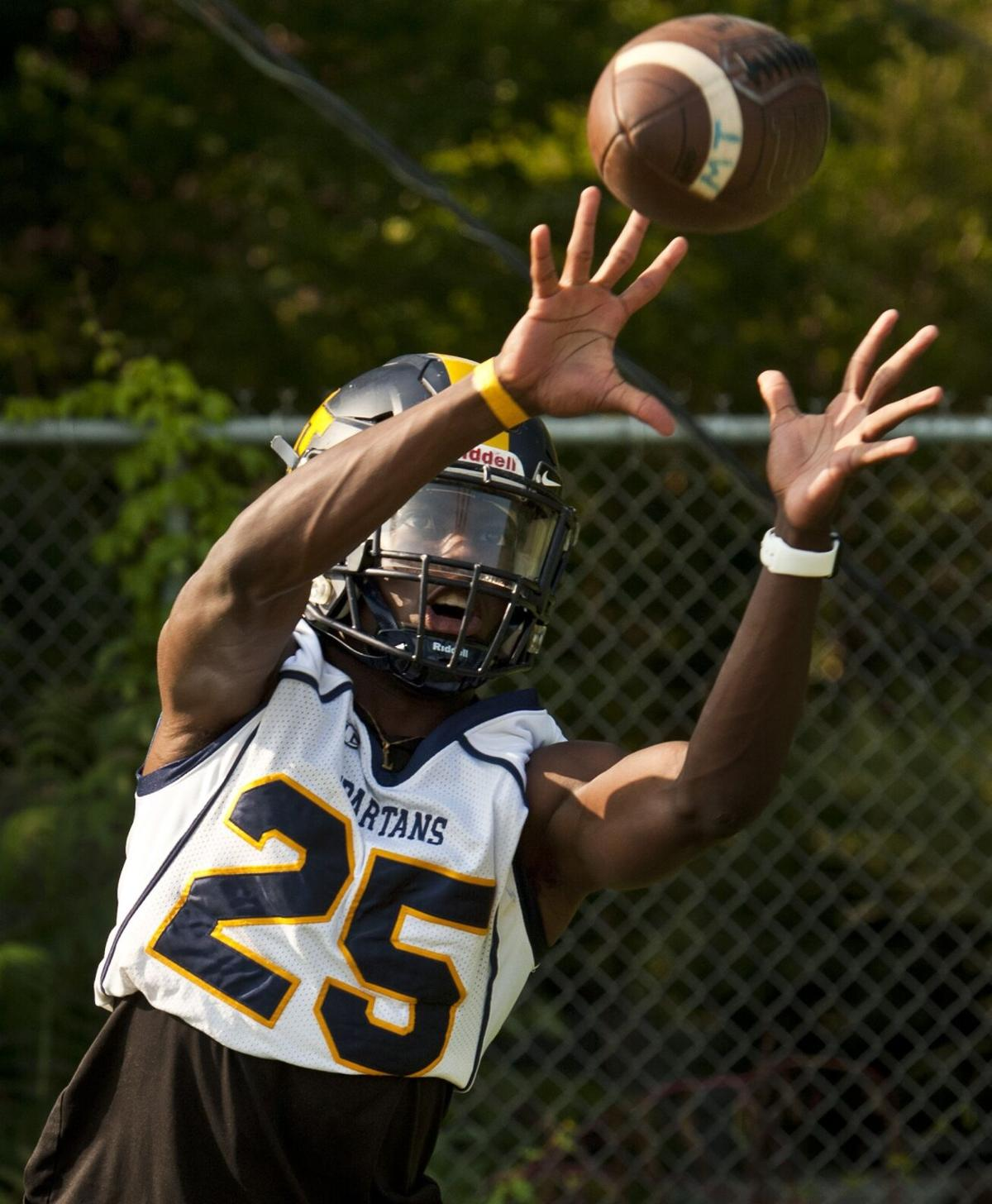 Mount Tabor football first day (copy)