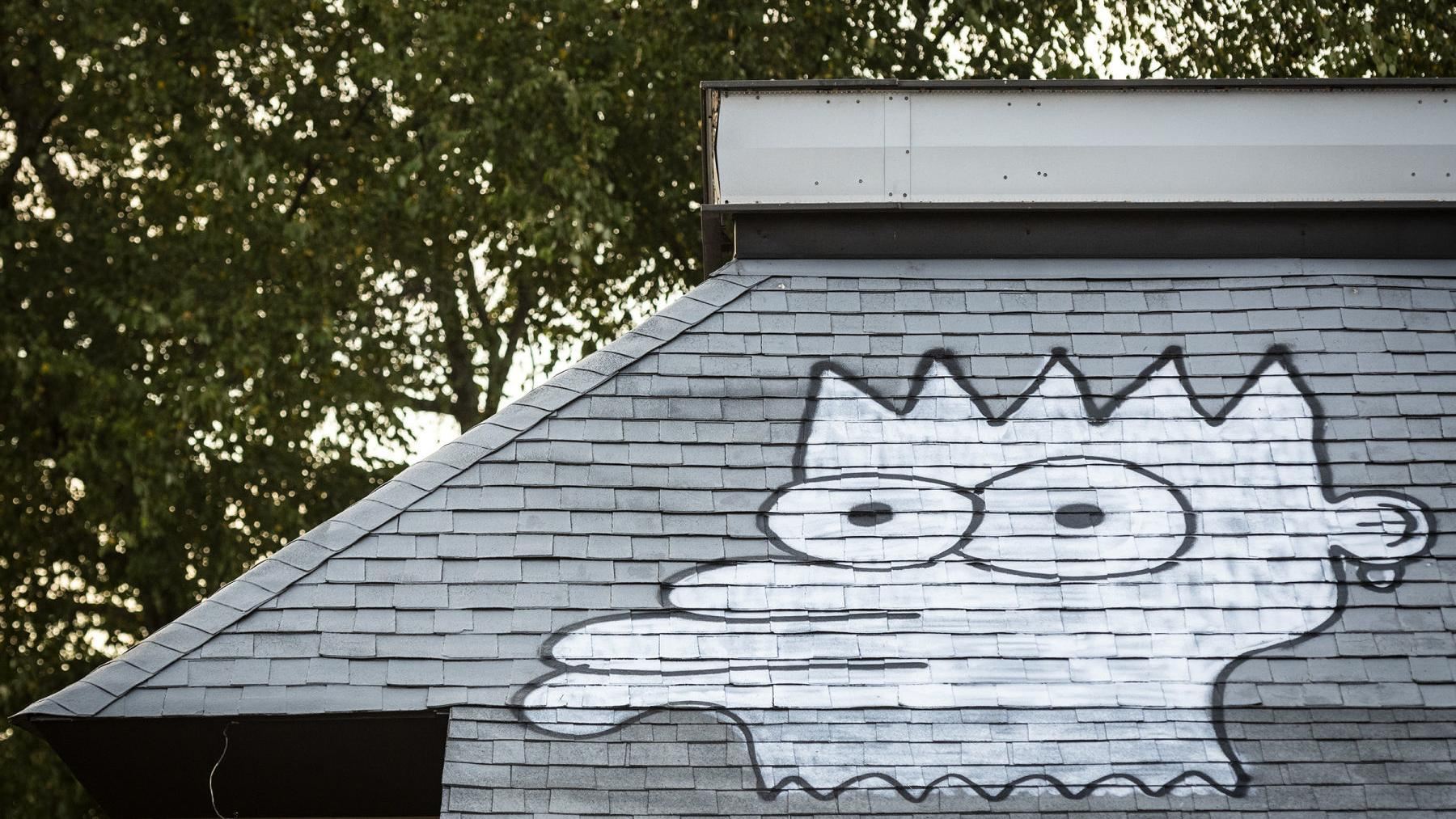 Bart Simpson Is Taking Over Wall Space In Winston Salem Latest Headlines Journalnow Com