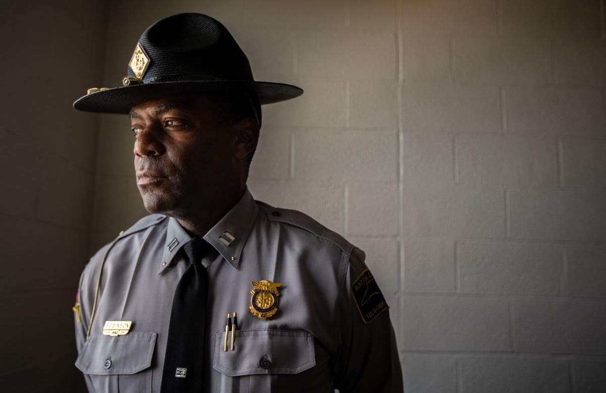 Highway Patrol Capt. Dee Robinson