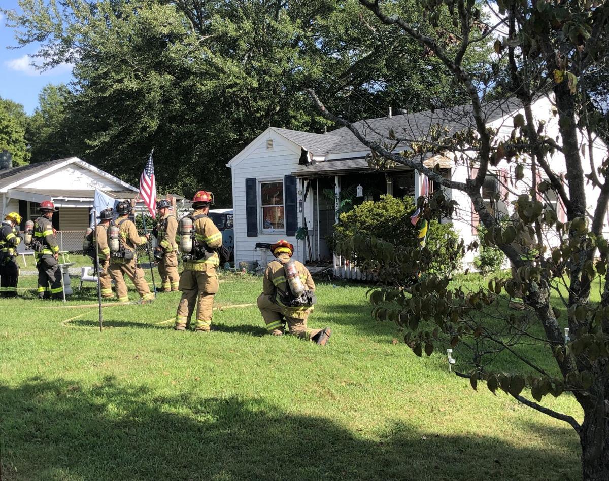 House on Elmhurst Street damaged by fire | Local News | journalnow.com