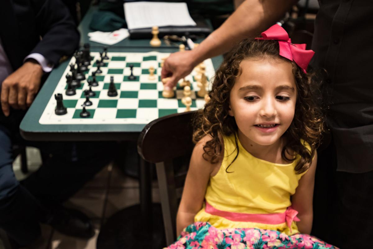 Celine Atassi 5 Year Old Chess Player