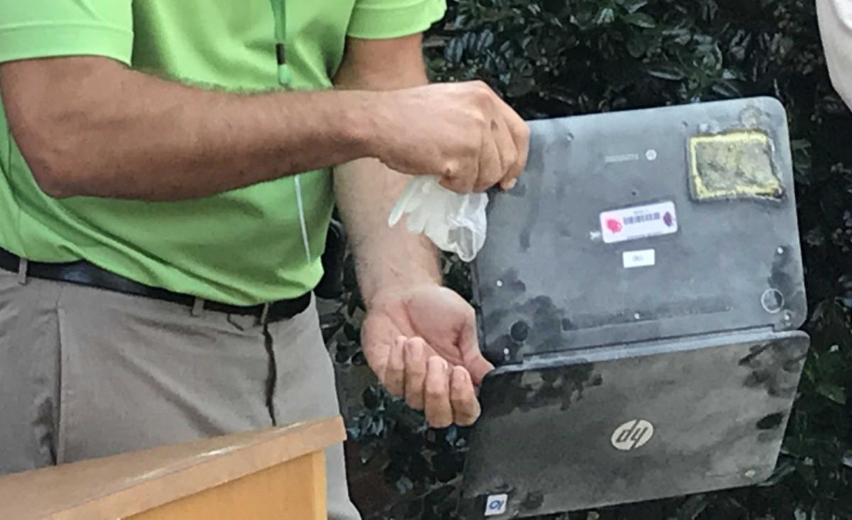 Lewisville elementary Chromebook